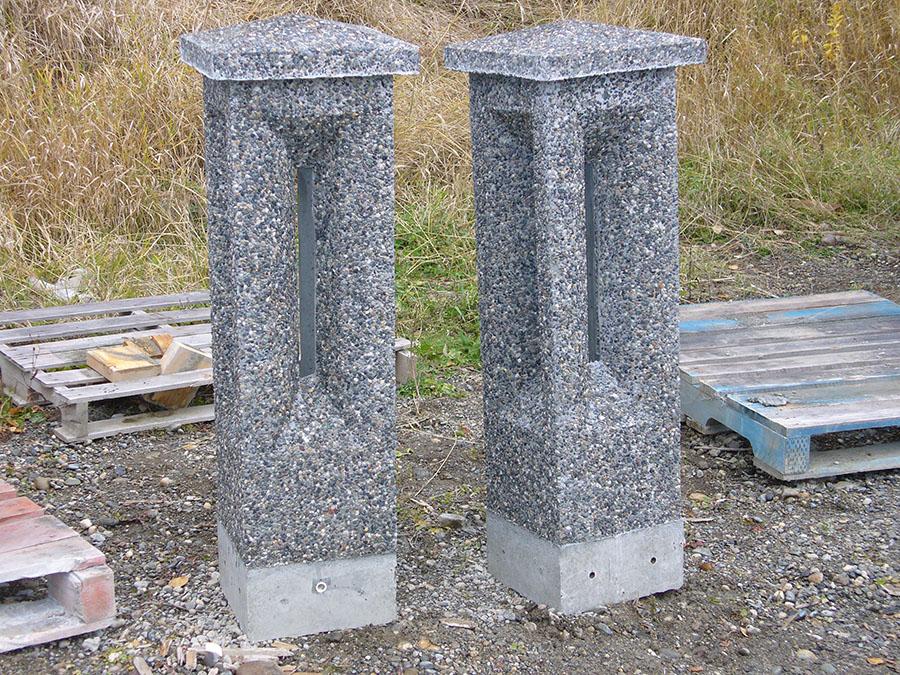 parking lot posts parking lot lamp stands. Black Bedroom Furniture Sets. Home Design Ideas